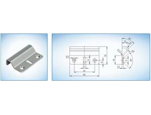 Напольная ответная планка ( входит в комплект B 7130 4100 ) GU (BKS)