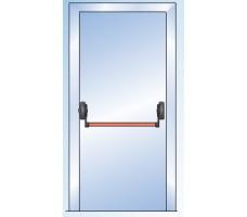 Комплект антипаники GU (BKS) (Одностворчатая дверь  1 точка запирания)