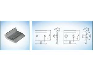 Ответная планка  GU (BKS) для боковых и верхних запоров  ( входит в комплект B 7130 1000  и B 7130 4100 )
