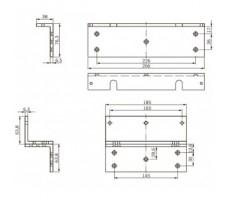 L+Z кронштейн для EMC 400 AH
