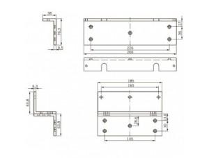 L+Z кронштейн для EMC 1200 ALH DORMA (dormakaba)
