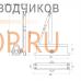 Доводчик дверной Nora-M 530 ECO (от 50 до 90 кг) морозостойкий, противопожарный