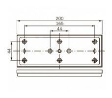 Удерживающая пластина для EMC 1200 ALH DORMA (dormakaba)