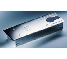 DORMA BTS 75 V напольный дверной доводчик с фиксацией на 90° (тело доводчика в монтажной ванне, без крышки, БЕЗ ШПИНДЕЛЯ)
