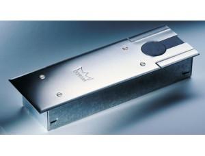 DORMA (dormakaba) BTS 75 V напольный дверной доводчик  (тело доводчика в монтажной ванне, без крышки, БЕЗ ШПИНДЕЛЯ)