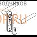 Комплект ручек Pure 8906 / 7051K PZ/72, 38-56 мм, 8 мм, нерж. ст. арт. 90050055049 DORMA (dormakaba)