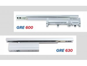Новый врезной дверный доводчик GRE 600
