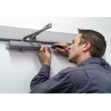 Основные правила установки дверного доводчика
