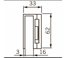 UBG-10/12 для EMC 400 AH на стекло 10-12