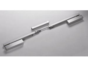 64102001 - Координатор порядка закрывания G-GSR/V серый для двухстворчатой двери  DORMA (dormakaba)