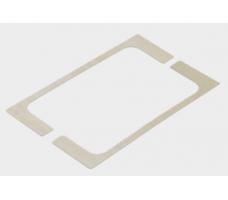 Universal EASY Уплотнитель для петель US 10 для стекла толщиной 12 мм (пара)