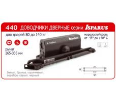 Доводчик дверной Nora-M 440 Isparus (от 80 до 140 кг) морозостойкий
