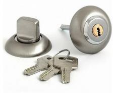 DORMA Фиксатор-ключ Bonn R AB/CP (античная бронза/хром)