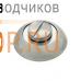 DORMA Накладка Берлин R WC-6 мм SN/CP(матовый никель/хром)