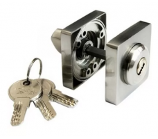 DORMA Фиксатор-ключ Bonn S AB/CP (античная бронза/хром)