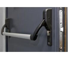 Готовый комплект на активную створку сплошной двери