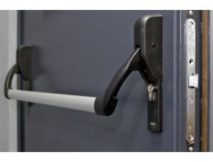 Готовый комплект на активную створку узкопрофильной правосторонней двери DORMA (dormakaba)