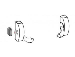 2101 Модульная система для одно точечного запирания, для стандартных дверей