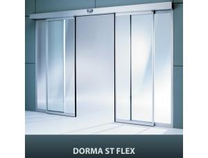 Комплект створок (DORMA) Dormakaba в профиле FLEX для двустворчатых дверей