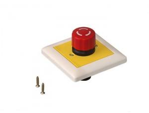 Кнопка аварийной остановки скрытого монтажа 80х80 мм, 90400025 DORMA (dormakaba)