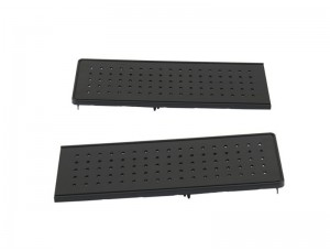 Крышки привода торцевые, 2 шт, 100 мм пластиковые черные, 4000034 DORMA (dormakaba)
