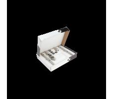 MANET COMPACT SET 2  двери (10 - 12 мм) Дверь с фрамугой