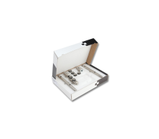 MANET COMPACT SET 2  двери (10 - 12 мм) Дверь с фрамугой DORMA (dormakaba)