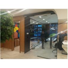 Продажа и Монтаж 3 автоматических раздвижных дверей в стоматологической клинике.  Мытная д. 7