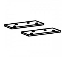 Пластина для установки корпуса доводчика ITS96 в металлическую дверь