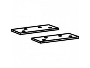 Пластина для установки скользящего канала DORMA (dormakaba) ITS96 в металлическую дверь