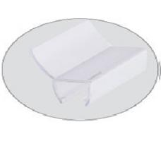 8030189Душевой мягкий уплотнитель 135° 8мм стекло 2м DORMA (dormakaba)